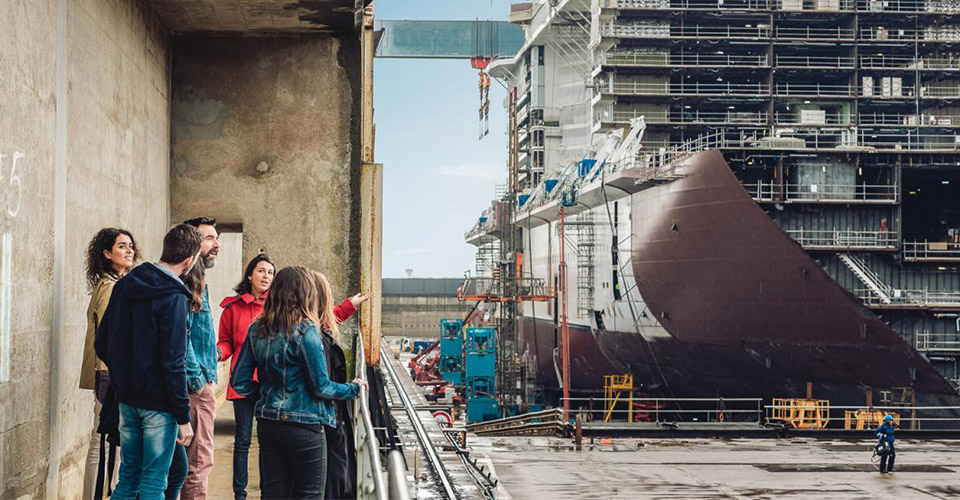 Découvrez les sommets de l'industrie navale à Saint‑Nazaire