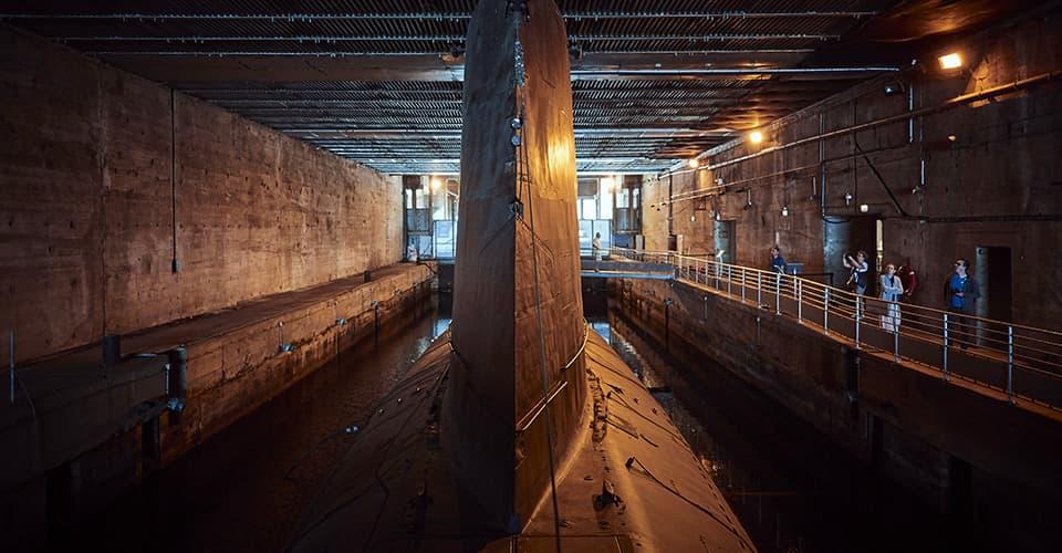 Visitez un sous-marin à Saint‑Nazaire